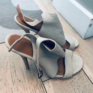 DKNY leather heels